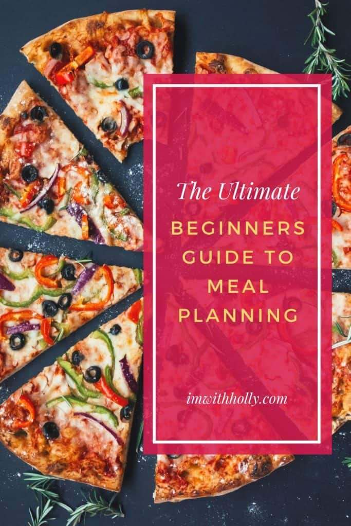 The ultimate beginner's guide to meal planning. #mealplanning #mealplan