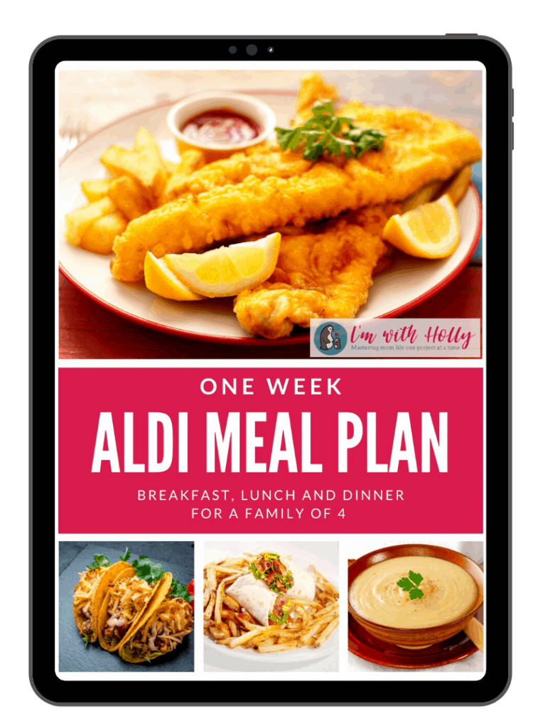 Aldi 7 Day Meal Plan