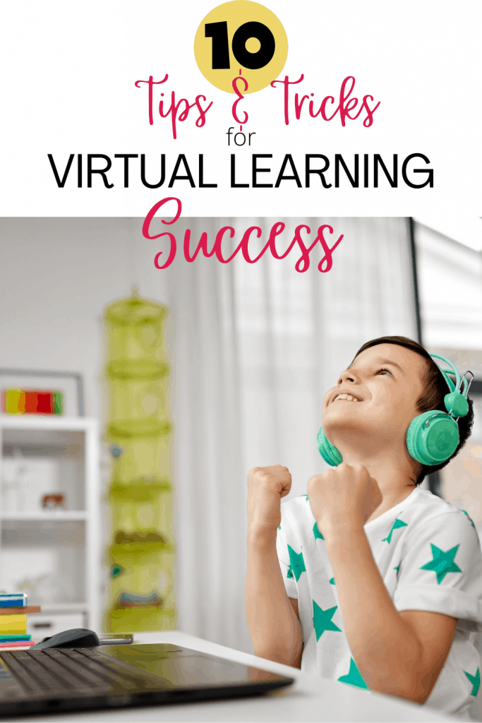 10 Tips and Tricks for virtual learning success