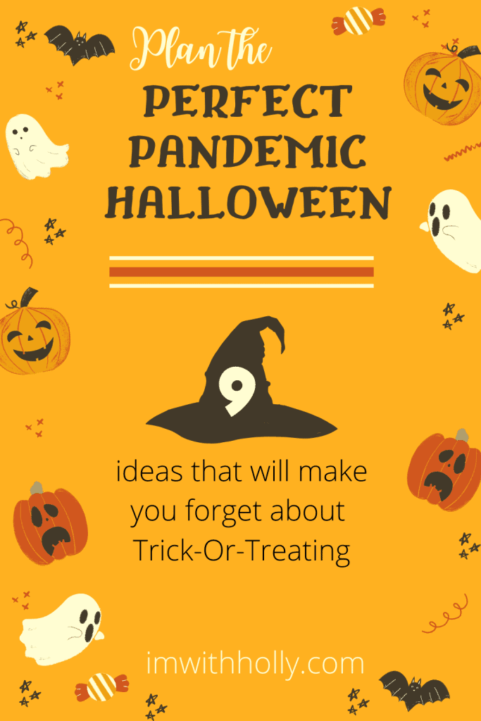 Plan the perfect halloween activities at home.