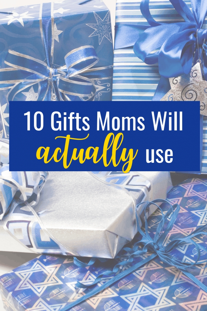 Moms are hard to buy for. Here are 10 gifts your mom will actually use. These items wont add to the clutter or need to be returned! Check out our list today!