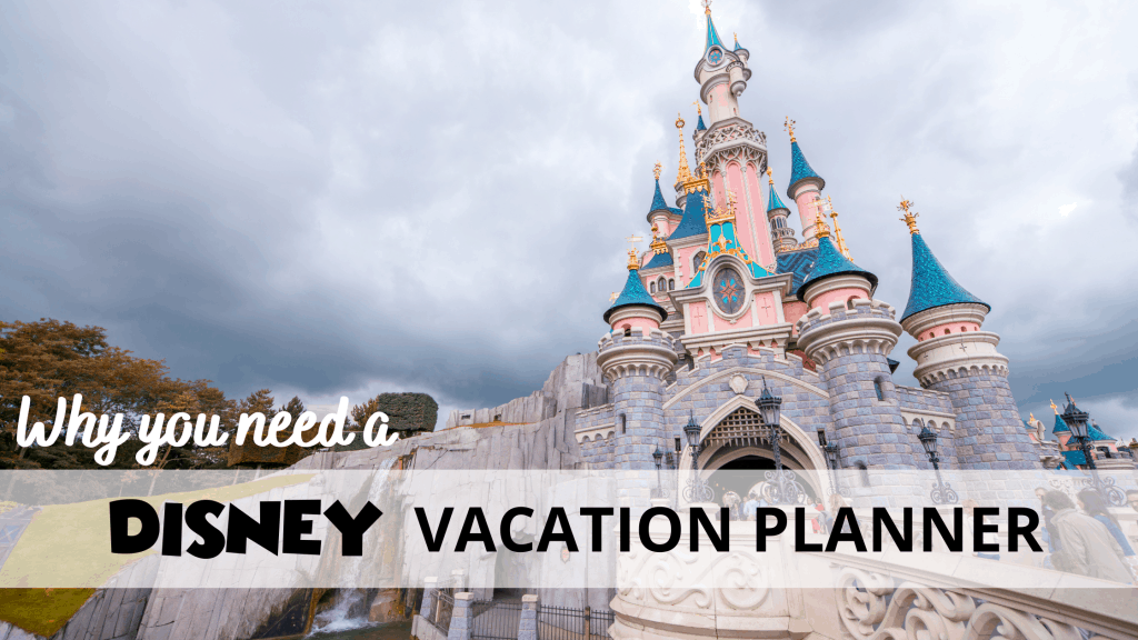 5 Reasons You Need a Disney Vacation Planner