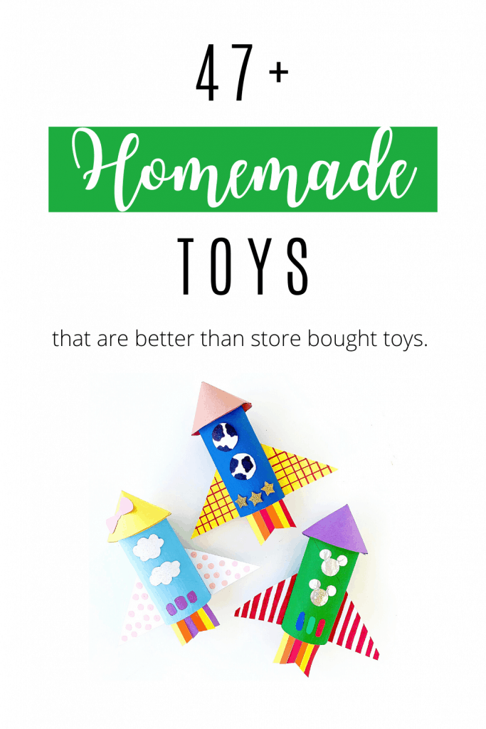 Homemade Toys that are better than store bought toys.