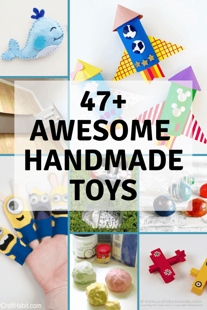 47+ Awesome Handmade Toys