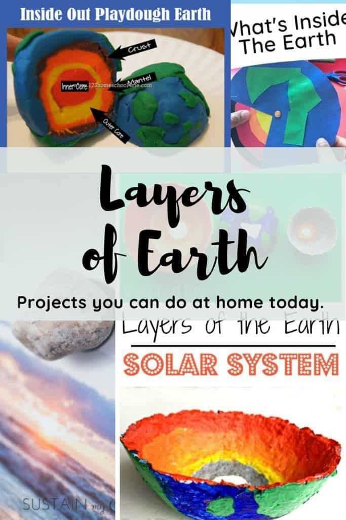 Layers of earth projects