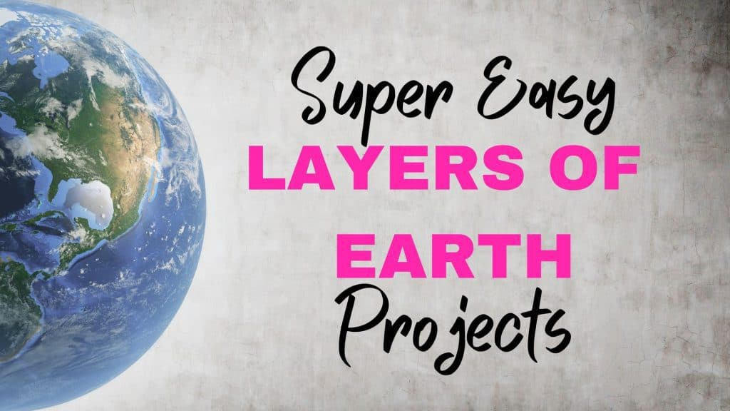 Super Easy earth projects