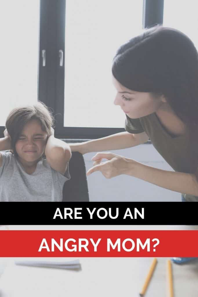 Are you an angry mom? Here are 4 steps to stop the mom rage, plus why we experience mom anger in the first place!