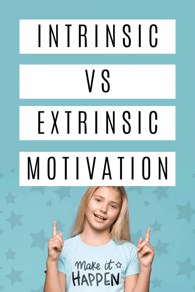 Motivation makes our world go round. Here's the difference between intrinsic & extrinsic motivation and when to use them as a parent.