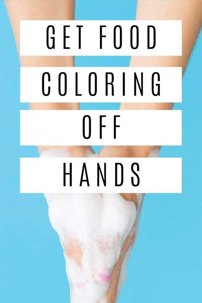 Food coloring stains are the worst. Here are 9 ways to get food coloring off your skin & hands with household items. #1 will surprise you!