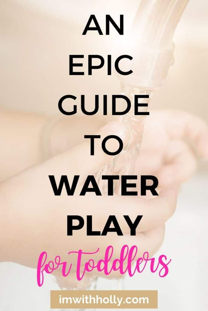 Fussy toddler? Let them play in water! A great EASY way to entertain toddlers is through water play at home. Check out this EPIC guide!