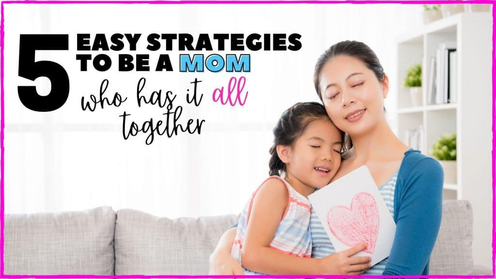 Moms who have it together