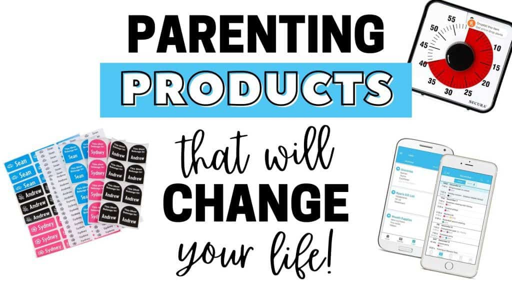 Parenting Products that will change your life