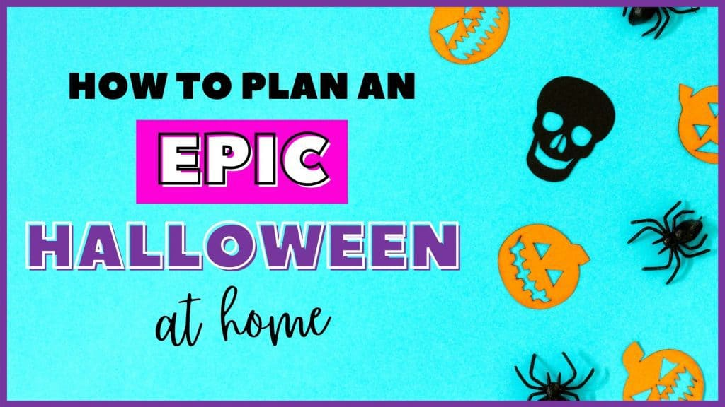 Plan a halloween at home