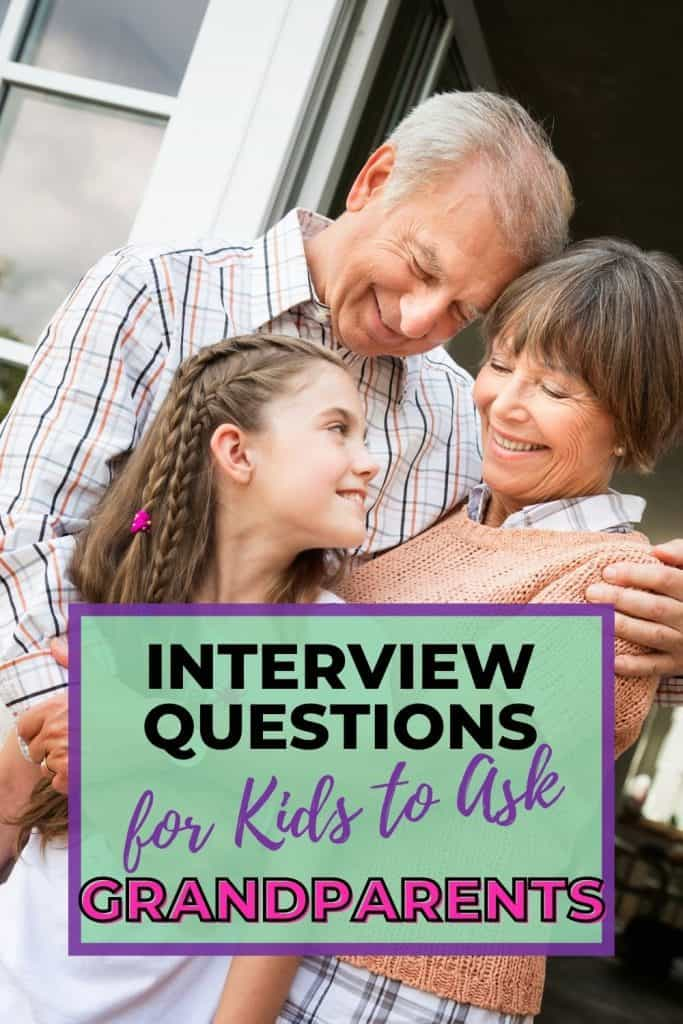 Help your kids get to know the grandparents with these interview questions.