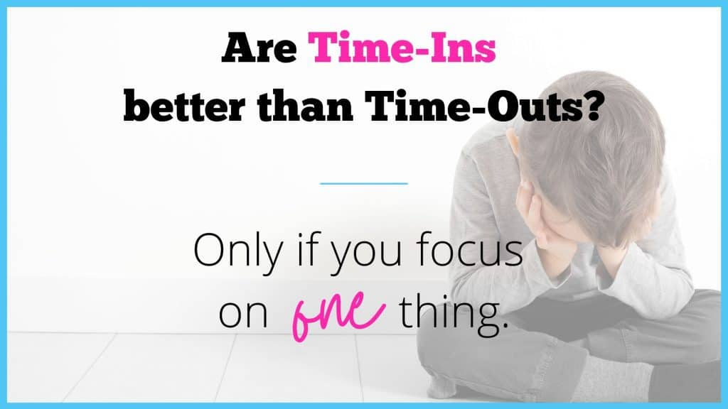 time ins are better than time outs