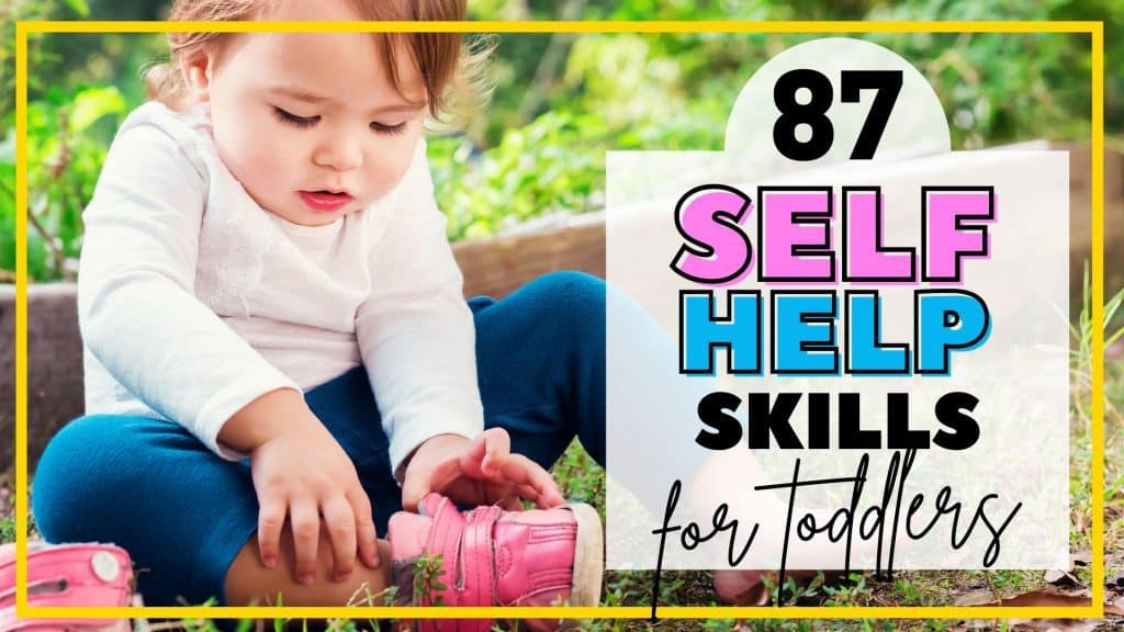 Skills toddlers can master