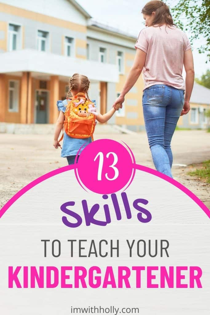 Wondering what your child needs to learn before heading off to school? Here are the 13 critical self help skills for kindergarten.