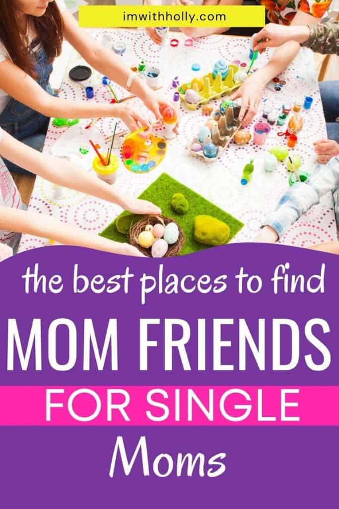 Are you struggling to find time to make your own friends? Here's how to make friends as a single mom, plus how to strike up conversations with strangers and develop lasting friendships.