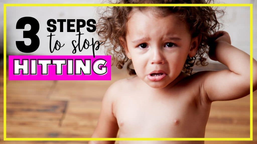 how to stop a toddler from hitting