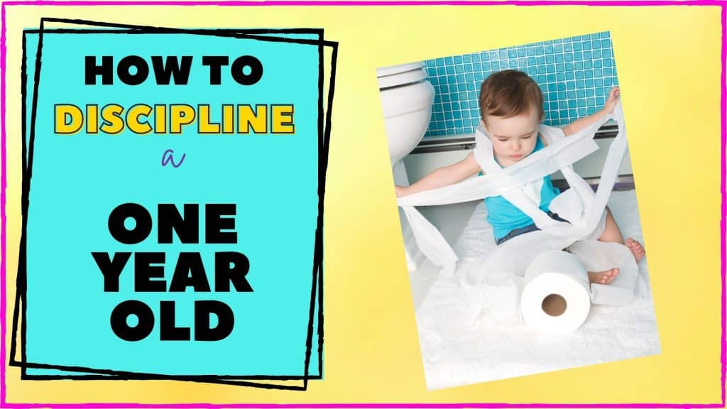 how to discipline a 1 year old