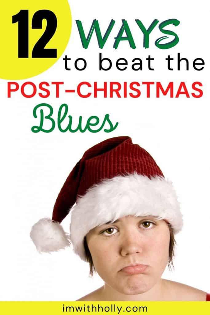 post Christmas blues