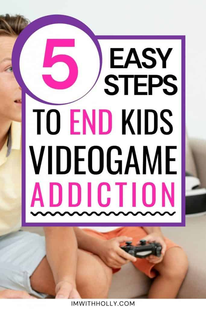how to get kids to stop playing videogames