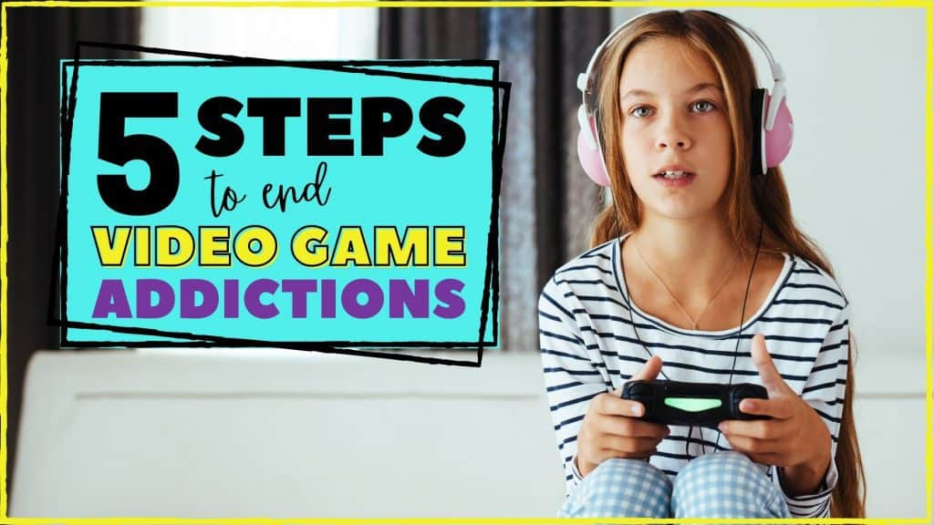 how to get your child to stop playing video games