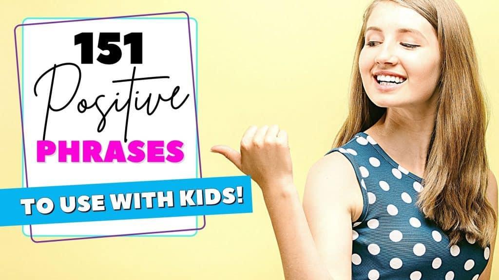 positive phrases for kids