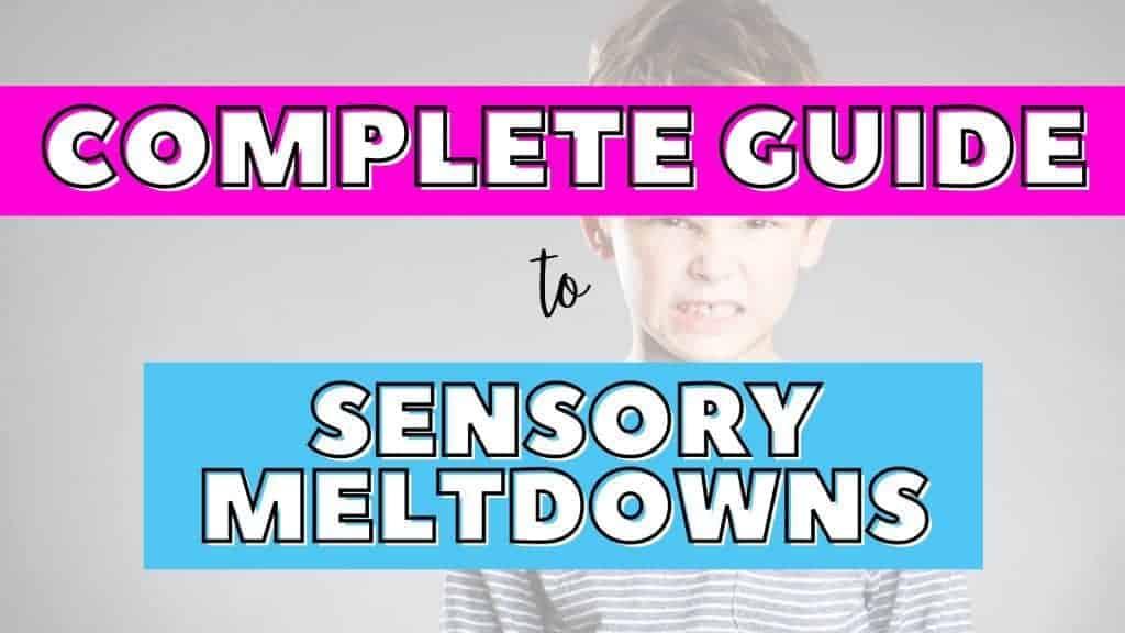 sensory meltdowns