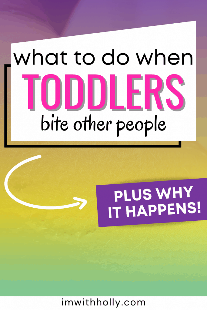 why toddlers bite