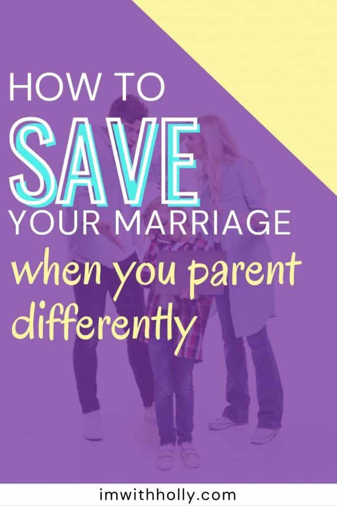 different parenting styles ruin your marriage