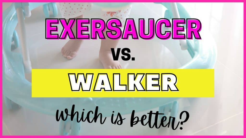 exersaucer vs walker