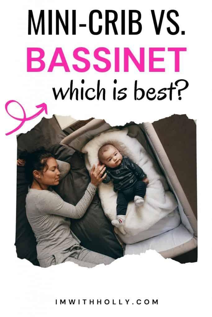 bassinet vs minicrib