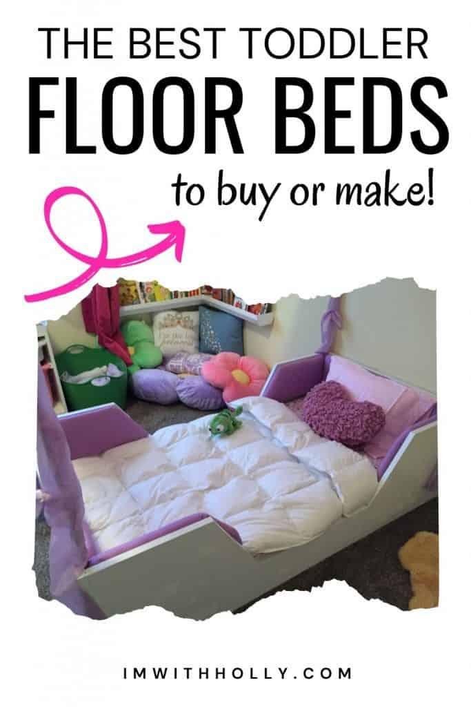 toddler floor beds
