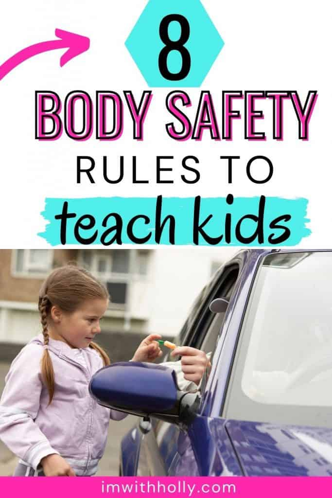 body safety rule kids need to know