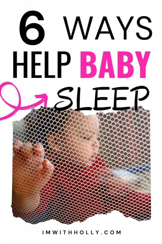 how to help a baby sleep comfortably in a pack n play