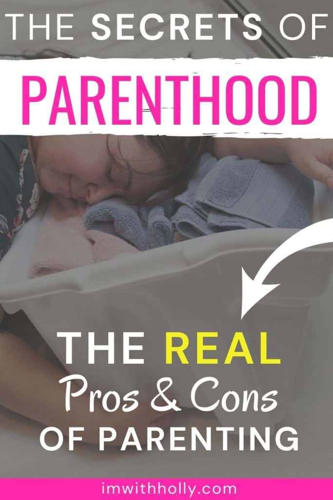 the pros and cons of parenting
