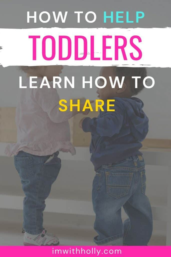help kids learn how to share the right way